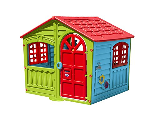 Childrens-Indoor-Outdoor-Summer-Garden-House-Of-Fun-Kids-Happy-Playhouse-0