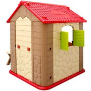 Childrens-Playhouse-1-table-2-benches-for-boys-and-girls-House-made-of-Plastic-for-indoors-and-outdoors-0-3
