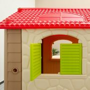 Childrens-Playhouse-1-table-2-benches-for-boys-and-girls-House-made-of-Plastic-for-indoors-and-outdoors-0-5