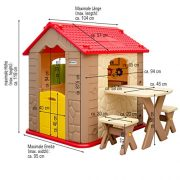 Childrens-Playhouse-1-table-2-benches-for-boys-and-girls-House-made-of-Plastic-for-indoors-and-outdoors-0-7