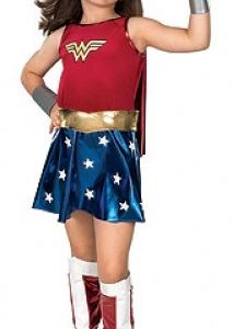 Childs-Deluxe-Wonder-Woman-Superhero-Licensed-Fancy-Dress-Costume-Size-Large-8-10-Years-0