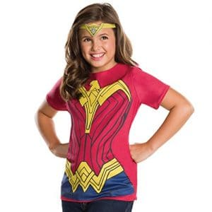 Childs-Girls-Official-DC-Wonder-Woman-Costume-Top-Tiara-0