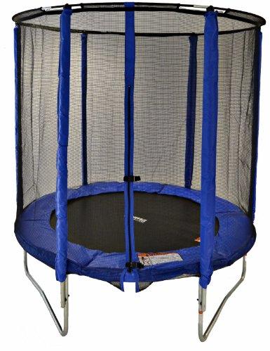 Cortez-Blue-6ft-Trampoline-with-Enclosure-0
