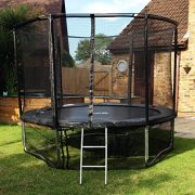 Cortez-Premier-12ft-Trampoline-with-Enclosure-and-Ladder-0-0