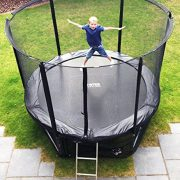 Cortez-Premier-12ft-Trampoline-with-Enclosure-and-Ladder-0-1