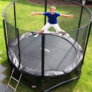 Cortez-Premier-12ft-Trampoline-with-Enclosure-and-Ladder-0-2