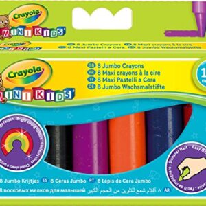 Crayola-8-Jumbo-Crayons-Assorted-Colours-0