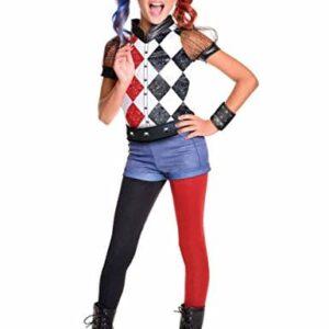DC-Super-Hero-Girls-620712L-Rubies-Deluxe-Harley-Quinn-Costume-0