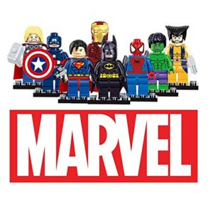 Dargo-Compatible-SuperHeroes-Set-Marvels-Avengers-Batman-Superman-Wolverine-Spiderman-Hulk-Iron-Man-Thor-Captain-America-Mini-Figures-Blocks-Toys-0
