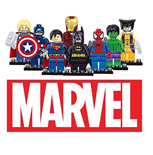 Dargo-Compatible-SuperHeroes-Set-Marvels-Avengers-Batman-Superman-Wolverine-Spiderman-Hulk-Iron-Man-Thor-Captain-America-Mini-Figures-Blocks-Toys-0