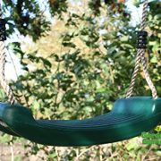 Deluxe-Blow-Moulded-Plastic-Swing-Seat-Green-0-0