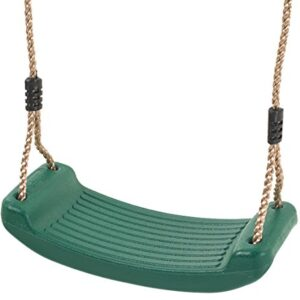 Deluxe-Blow-Moulded-Plastic-Swing-Seat-Green-0