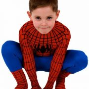 Deluxe-Kids-Adult-Super-Hero-Spider-Big-Party-Costumes-Red-Blue-0-2