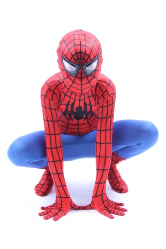 Deluxe-Kids-Adult-Super-Hero-Spider-Big-Party-Costumes-Red-Blue-0