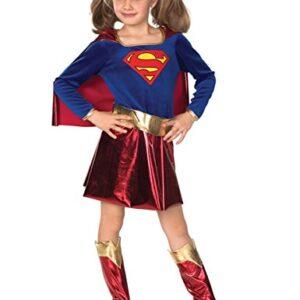 Deluxe-Supergirl-Childrens-Fancy-Dress-Costume-0