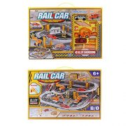 Dibang-Electronic-Racing-Rail-Car-Trucks-Railway-Set-Educational-Learning-Toy-for-kids-Boys-0-2