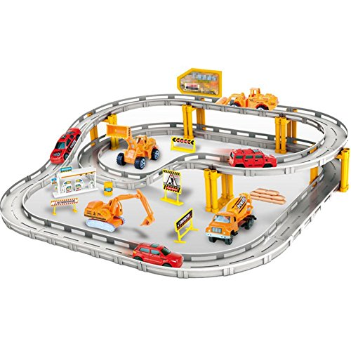 Dibang-Electronic-Racing-Rail-Car-Trucks-Railway-Set-Educational-Learning-Toy-for-kids-Boys-0