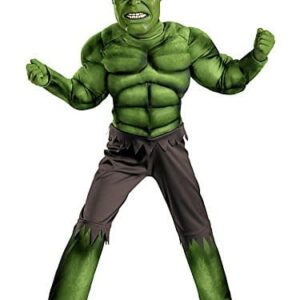 Disguise-Avengers-Hulk-Classic-Muscle-Costume-GreenBrown-0