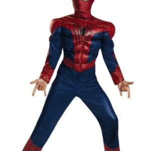 Disguise-Limited-Boys-Child-Spider-Man-2-Classic-Muscle-Fancy-dress-costume-0