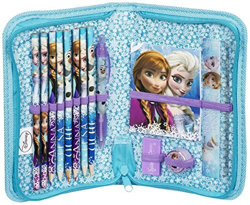 Disney-Frozen-14pc-Filled-Pencil-Case-0