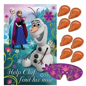 Disney-Frozen-Olaf-Pin-Nose-Party-Game-0