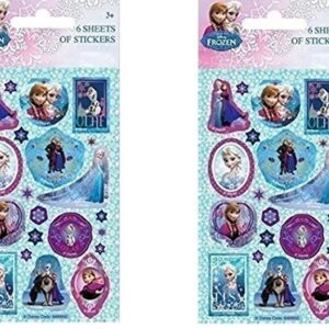Disney-Frozen-Party-Stickers-Pack-of-12-Sheets-0