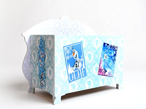Disney Frozen Toy Jewellery Box - Build & Decorate your ...