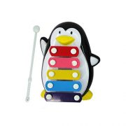 Education-ToysFortan-Baby-Kid-5-Note-Xylophone-Musical-Toys-Wisdom-Development-PenguinBlack-0-0