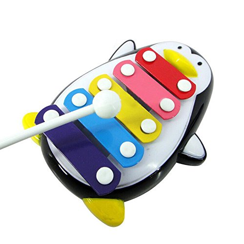 Education-ToysFortan-Baby-Kid-5-Note-Xylophone-Musical-Toys-Wisdom-Development-PenguinBlack-0