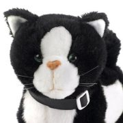 Electronic-Toy-Pet-Black-White-Cat-Jess-Life-like-Movement-Walks-Meows-and-Wags-Her-Tail-and-Head-0-0
