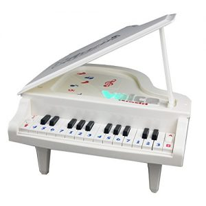 Fajiabao-Best-Birthday-Gift-Electronic-14-Keys-Little-Educational-Piano-Music-Keyboard-Game-Toy-Set-with-Light-and-Song-for-Children-Boys-Girls-Kids-Musical-Early-Learning-0