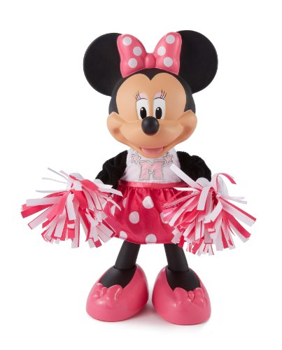 Fisher-Price-Toy-Disney-Minnie-Mouse-3-Cheers-Singing-Doll-Electronic-12-Phrases-and-Cheers-0