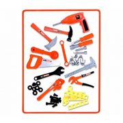 FunkyBuys-Childrens-54pc-Tool-Bench-Playset-Workshop-Tools-Kit-Kids-Toy-Battery-Operated-Electronic-Drill-0-4