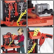 FunkyBuys-Childrens-54pc-Tool-Bench-Playset-Workshop-Tools-Kit-Kids-Toy-Battery-Operated-Electronic-Drill-0-5