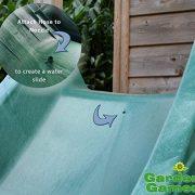 Garden-Games-Childrens-Heavy-Duty-Green-Wavy-Slide-3-metre-for-15-metre-Climbing-Frame-or-Tree-House-Platform-0-0