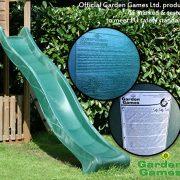 Garden-Games-Childrens-Heavy-Duty-Green-Wavy-Slide-3-metre-for-15-metre-Climbing-Frame-or-Tree-House-Platform-0-1