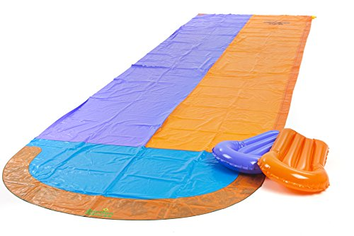 Garden-Games-Limited-47m-Double-Racing-Water-Slide-with-Two-Inflatable-Boogie-Boards-and-Sprinkler-0