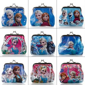 Girls-Frozen-Theme-Coin-Purse-Various-Designs-0