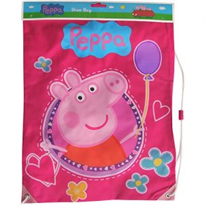 Girls-Pink-Peppa-Pig-Shoe-Swim-Gym-Drawstring-Bag-0