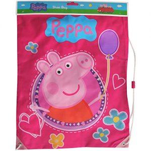 Girls-Pink-Peppa-Pig-Shoe-Swim-Gym-Drawstring-Bag-0