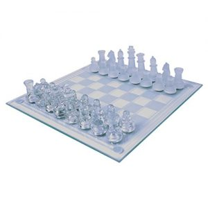 Global-Gizmos-2-in-1-Benross-Glass-Chess-and-Draughts-Set-0