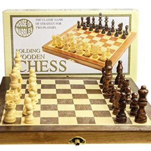 House-of-Marbles-Standard-Wooden-Fold-Up-Chess-Set-0