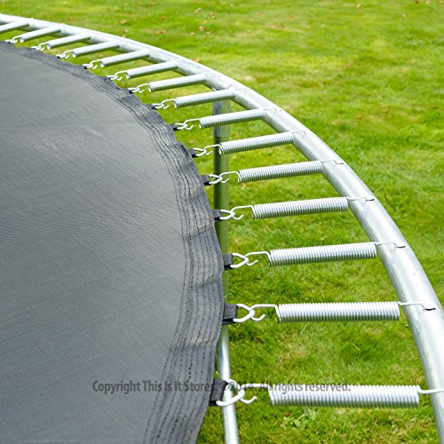 Jump Star Trampoline And Enclosure Bumper Package 8ft 10ft