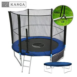 Kanga-6ft-8ft-10ft-12ft-Premium-Trampoline-with-Safety-Enclosure-Net-Ladder-Shoe-Bag-Winter-Cover-0