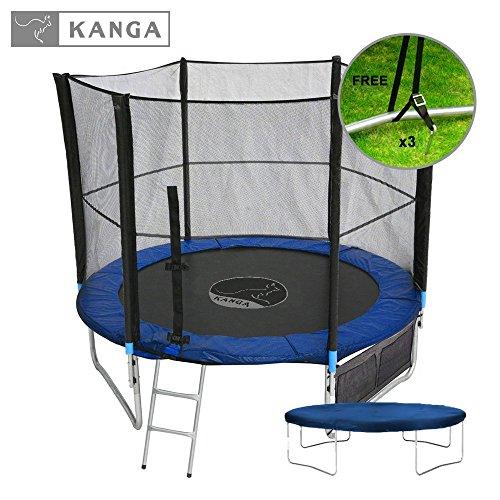 Kanga 6ft / 8ft / 10ft / 12ft Premium Trampoline With