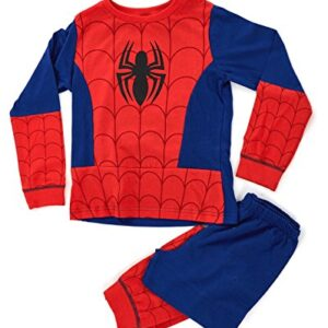 Kids-Boys-Fancy-Dress-Up-Play-Costumes-Pyjamas-Nightwear-Pjs-Pjs-Set-Buzz-Lightyear-Superman-Spiderman-Batman-Party-Size-UK-1-8-Years-0