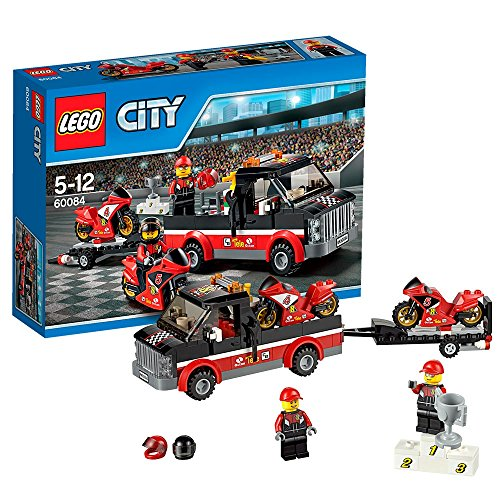 LEGO-City-Great-Vehicles-60084-Racing-Bike-Transporter-0