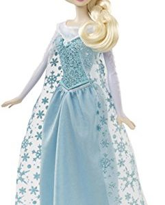Mattel-CHW87-Disney-Frozen-Singing-Elsa-Doll-0