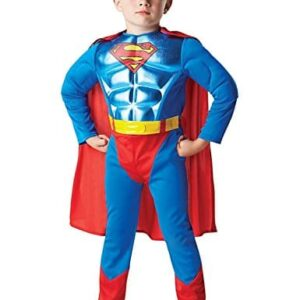 Metallic-Chest-Superman-Childrens-Fancy-Dress-Costume-0