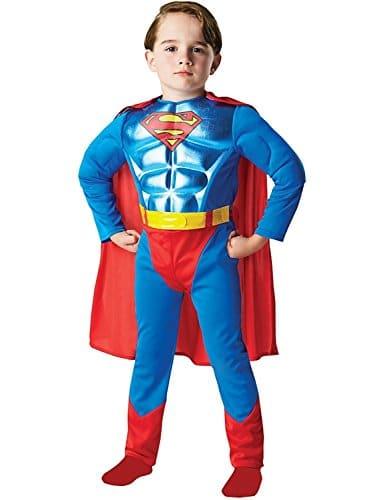 Metallic-Chest-Superman-Childrens-Fancy-Dress-Costume-0